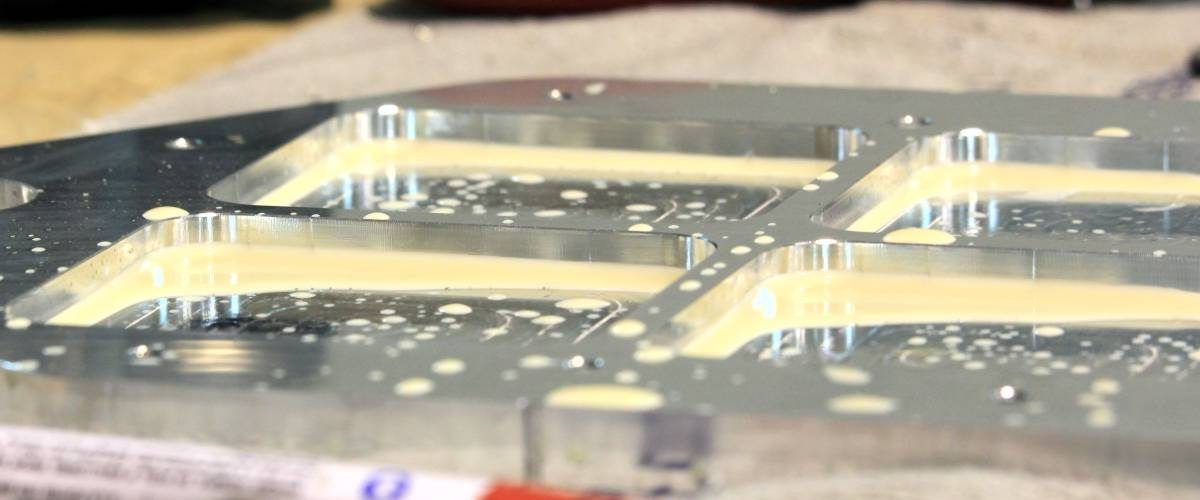 Fresatura CNC Piastra